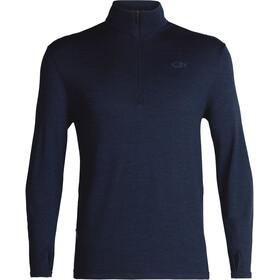 Icebreaker Original LS Half Zip Shirt Men dk night heather